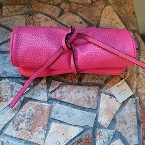 NwtPink  jewelry travel bag